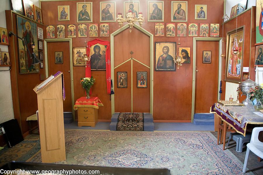 St Helen's chapel, Greek orthodox church, Colchester, Essex