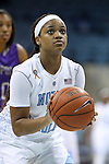 21 December 2013: North Carolina's Brittany Rountree. The University of North Carolina Tar Heels played the High Point University Panthers in an NCAA Division I women's basketball game at Carmichael Arena in Chapel Hill, North Carolina. UNC won the game 103-71.