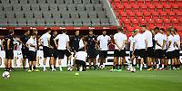 Teambesprechung mit Bundestrainer Joachim Loew (Deutschland Germany) - 31.08.2017: Abschlusstraining Deutschland in Prag, Marriott Hotel