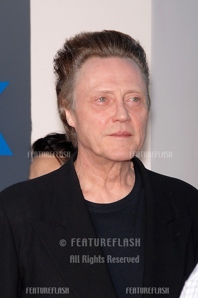 "Actor CHRISTOPHER WALKEN at the Los Angeles premiere of his new movie ""Click""..June 14, 2006  Los Angeles, CA.© 2006 Paul Smith / Featureflash"