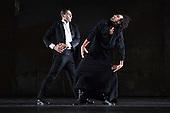 Iphigenie auf Tauris, Tanztheater Wuppertal Pina Bausch, Sadler's Wells, London, Jorge Puerta Armenta as Thoas