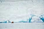 Kayaking in Lindblad Cove, Antarctica