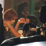 September 21st  2012    Exclusive <br /> <br /> Zooey Deschanel got into a fight &amp; was getting her eyes checked by co-star for a scene while filming the TV show New Girl in Los Angeles. Zooey was given a red lollipop after by the doctor.  She was dressed like a zombie/ dead person hugging and kissing a red nose cast member. <br /> Zooey was also carving &amp; stabbing a pumpkin. <br /> Zooey looked more like the joker wearing a Halloweeen costume with white face makeup black circles painted around her eyes red wig hair <br /> <br /> <br /> AbilityFilms@yahoo.com<br /> 805 427 3519<br /> www.AbilityFilms.com