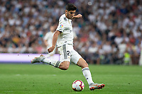 Marco Asensio of Real Madrid during the match between Real Madrid v Atletico Madrid of LaLiga, date 7, 2018-2019 season. Santiago Bernabéu Stadium. Madrid, Spain - 29 SEP 2018.