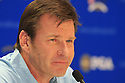 NICK FALDO, European Team Ryder Cup Captain addresses the media at the 37th Ryder Cup Matches, September 16 -21, 2008 played at Valhalla Golf Club, Louisville, Kentucky, USA ( Picture by Phil Inglis ).... ......