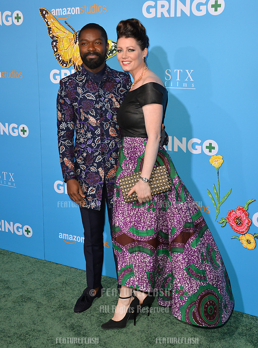 David Oyelowo &amp; Jessica Oyelowo at the world premiere for &quot;Gringo&quot; at the L.A. Live Regal Cinemas, Los Angeles, USA 06 March 2018<br /> Picture: Paul Smith/Featureflash/SilverHub 0208 004 5359 sales@silverhubmedia.com