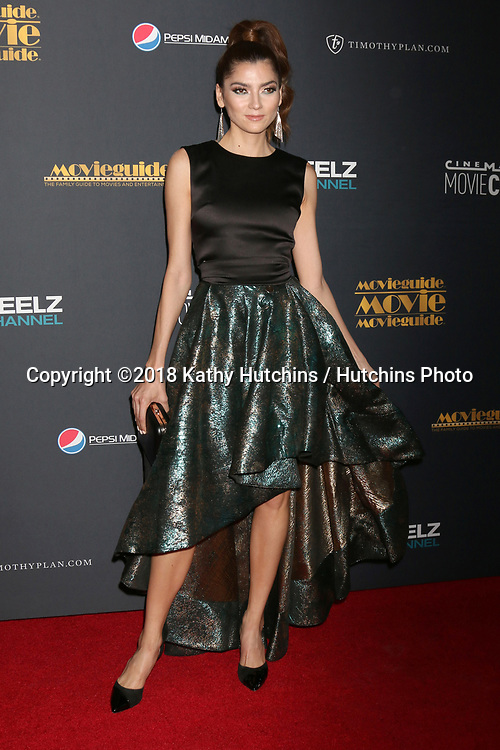 LOS ANGELES - FEB 2:  Blanca Blanco at the 26th MovieGuide Awards at the Universal Hilton Hotel on February 2, 2018 in Universal City, CA