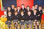 SCHOOL TIME: The Junior Infants pupils of Scoil Nuachabha?il, Gortatlea, Ballymacelligott having a great time on their first day of school on Monday seated l-r: Rachel Ni? Chri?oda?in, Natasha Knightly, Sophia Stein, Sarah Ni? Chonchu?ir and Izzy Ni? Chonchu?ir. Back l-r: Niamh De Ri?s, Shane Mac Giolla Rua, Lee O? hArrachta?in, Jack O? Seoigh, Darren O? Brolacha?in, Aoife Nic Suibhne, Michael O? Brosnacha?in, Sarah West and Danny De Bu?rca.
