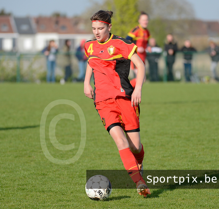 U 16 Belgian red Flames - virginia USA :<br /> <br /> Kirsten Raemdonck<br /> <br /> foto Dirk Vuylsteke / Nikonpro.be