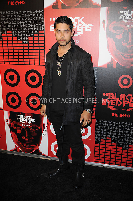 WWW.ACEPIXS.COM . . . . . ....June 10 2009, New York City....Actor Wilmer Valderrama arriving at the Black Eyed Peas album release party hosted by Target at The Griffin on June 10, 2009 in New York City.....Please byline: KRISTIN CALLAHAN - ACEPIXS.COM.. . . . . . ..Ace Pictures, Inc:  ..tel: (212) 243 8787 or (646) 769 0430..e-mail: info@acepixs.com..web: http://www.acepixs.com