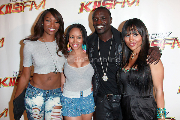 Akon and guests at KIIS FM's Wango Tango 2010 at Staples Center  in Los Angeles, California. May 15, 2010  Credit: Dennis Van Tine/MediaPunch