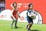 HSBC Sevens Village during the HSBC Hong Kong Rugby Sevens 2018 on 08 April 2018, in Hong Kong, Hong Kong. Photo by Yu Chun Christopher Wong / Power Sport Images