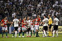 SÃO PAULO,SP,08 JUNHO 2103 - CAMPEONATO BRASILEIRO - CORINTHIANS x PORTUGUESA - Valdomiro jogador da Portuguesa durante partida Corinthians x Portuguesa em jogo válido  pela 05º rodada do Campeonato Brasieliro no Estádio Paulo Machado de Carvalho (Pacaembú) na tarde sabado (08). FOTO ALE VIANNA - BRAZIL PHOTO PRESS.