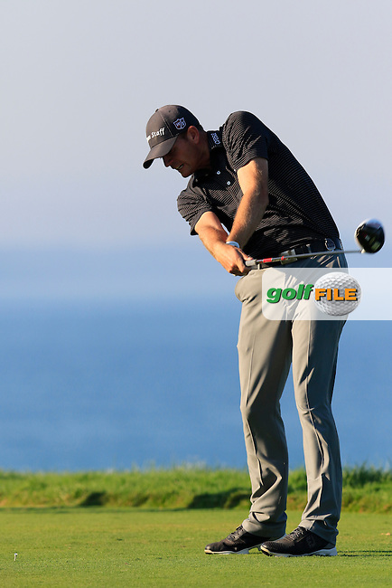 Brendan STEELE (USA) tees off the 16th tee during Saturday's Round 3 of the 97th US PGA Championship 2015 held at Whistling Straits, Mosel, Kohler, Wisconsin, United States of America. 15/08/2015.<br /> Picture Eoin Clarke, www.golffile.ie