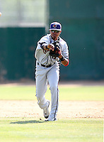 April 20, 2008:  Boston Red Sox prospect Argenis Diaz playing with the Lancaster Jethawks against the Bakersfield Blaze.  Photo by:  Bill Mitchell/Four Seam Images