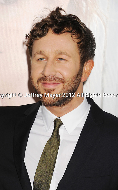 HOLLYWOOD, CA - DECEMBER 12: Chris O'Dowd  arrives at the 'This Is 40' - Los Angeles Premiere at Grauman's Chinese Theatre on December 12, 2012 in Hollywood, California.