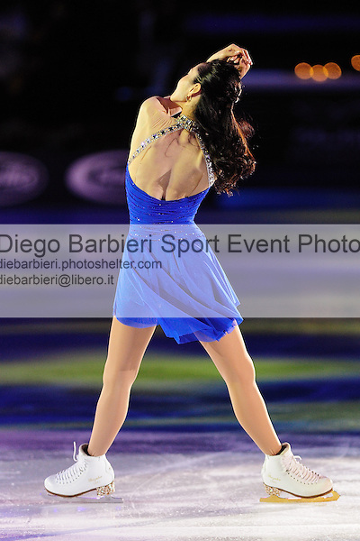 2012.01.01 Shizuka Arakawa exhibits at Capodanno on Ice, ice figure skating gala at Palavela in Turin, Italy<br />