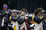 COLUMBUS, OH - MARCH 11:  Jaycee Carter of the University of Nebraska smiles during the Division I Rifle Championships held at The French Field House on the Ohio State University campus on March 11, 2017 in Columbus, Ohio. Carter finished eighth in the individual championship with a score of 79.3. (Photo by Jay LaPrete/NCAA Photos via Getty Images)