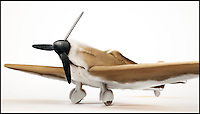 BNPS.co.uk (01202 558833)<br /> Pic: INK/BNPS<br /> <br /> *** Please use full byline***<br /> <br /> Dogfighters...<br /> <br /> Spitfire camoflaged as a Beagle...<br /> <br /> A design studio has launched its own dogs of war - by cleverly blending iconic Second World War planes with their canine counterparts.<br /> <br /> London-based INK created the impressive images by pairing a Spitfire with a Beagle, a Golden Retriever with a Wellington Bomber and a Schnauzer with a German bi-plane.<br /> <br /> The intricate 3D drawings re-imagine key aspects from each plane into recognisable dog features.<br /> <br /> The cockpits are transformed into furry eyebrows while the propellers become unmistakable wet noses.<br /> <br /> The Dogfighters series will be sold online as a series of limited edition prints.