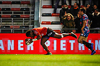 Julian Savea of Toulon score his try during the Top 14 match between Toulon and Stade Francais at Felix Mayol Stadium on January 27, 2019 in Toulon, France. (Photo by Wallis/Icon Sport)