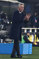 Carlo Ancelotti<br /> Bergamo 3-12-2018 Stadio Atleti Azzurri d'italia Football Calcio Serie A 2018/2019 Atalanta - Napoli Foto Matteo Gribaudi / Image Sport / Insidefoto