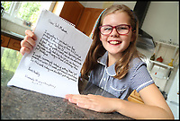 BNPS.co.uk (01202 558833)<br /> Pic : BournemouthEcho<br /> <br /> A schoolgirl has forced Kelloggs to change its 'sexist' wording on packets of Coco Pops after writing to the cereal giant to complain.<br /> <br /> Hannah-Marie Clayton, 10, objected to the slogan 'Loved by kids, approved by mums' on the boxes of the chocolate cereal.<br /> <br /> So she fired off a letter to Kellogs saying she found the phrase 'sexist' and pointed out her dad James often makes her breakfast as mum, Anne-Marie, sometimes works away.<br /> <br /> Kelloggs has since replied to confirm they will be altering the wording on the boxes.