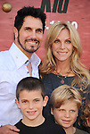 "WESTWOOD, CA. - June 07: Don Diamont and family arrive at ""The Karate Kid"" Los Angeles Premiere at Mann Village Theatre on June 7, 2010 in Westwood, California."