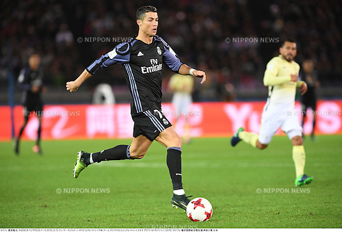 Cristiano Ronaldo (Real),<br /> DECEMBER 15, 2016 - Football / Soccer :<br /> FIFA Club World Cup Japan 2016 Semifinal match between Club America 0-2 Real Madrid at International Stadium Yokohama in Kanagawa, Japan. (Photo by Takamoto Tokuhara/AFLO)