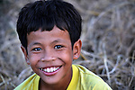 A boy in the village of Dong in northern Cambodia.