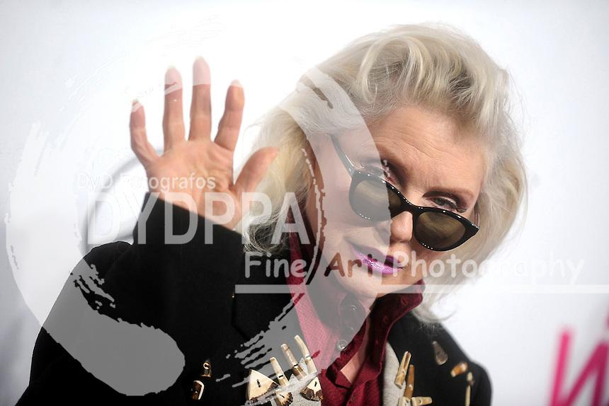 Debbie Harry attends Billboard Women In Music 2016 at Pier 36 on December 9, 2016 in New York City.