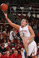 STANFORD, CA - FEBRUARY 4:  Jayne Appel of the Stanford Cardinal during Stanford's 74-53 win over UCLA on February 4, 2010 at Maples Pavilion in Stanford, California.