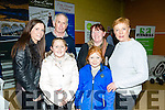 Castleisland Enterprise Town Expo was officially opened by RTÉ broadcaster and Journalist Miriam O'Callaghan on Friday at the Castleisland Community Centre. Pictured l-r Marie Dineen, Tim Dineen, Jessica Riordan, Elaine Riordan Maggie Riordan, Mary Dineen, Tru Care Cleaning