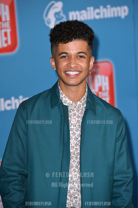 LOS ANGELES, CA. November 05, 2018: Jordan Fisher at the world premiere of &quot;Ralph Breaks The Internet&quot; at the El Capitan Theatre.<br /> Picture: Paul Smith/Featureflash