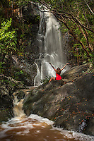Reef Bay  Watefall<br /> Virgin Islands National Park<br /> St. John<br /> U.S. Virgin Islands