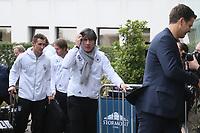 Bundestrainer Joachim Loew (Deutschland Germany) - 04.10.2017: Deutschland Teamankunft, Stormont Hotel Belfast