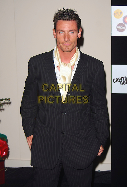 DEAN GAFFNEY.At the Capital Rocks! Party, .Battersea Park Events Arena, London, .England, December 12th 2006..half length .CAP/CAN.©Can Nguyen/Capital Pictures