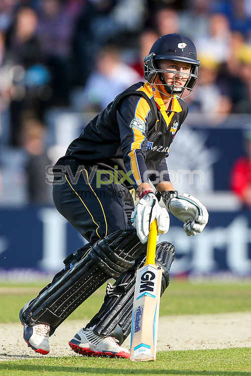 Picture by Alex Whitehead/SWpix.com - 05/06/2015 - Cricket - NatWest T20 Blast - Yorkshire Vikings v Lancashire Lightning - Headingley Cricket Ground, Leeds, England - Yorkshire's Joe Root.