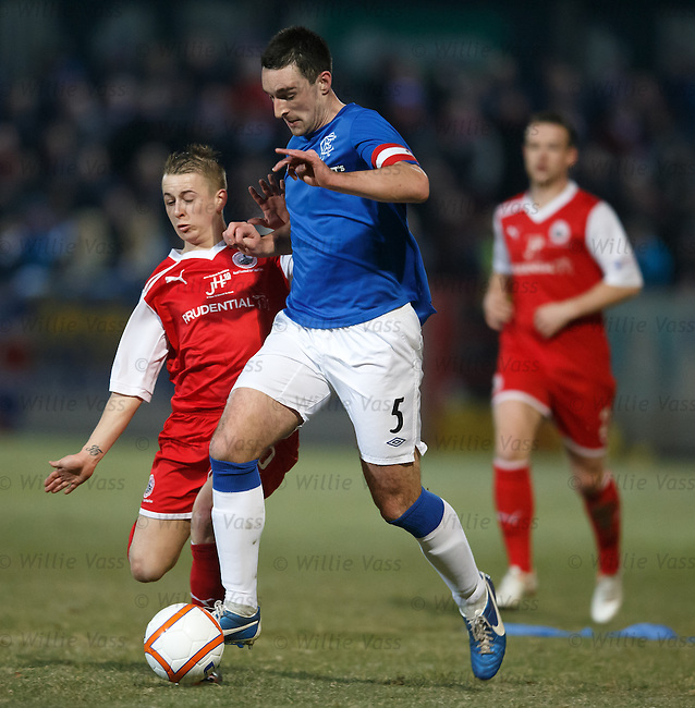 Lee Wallace and Josh Flood