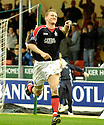 06/05/2006         Copyright Pic: James Stewart.File Name : sct_jspa06_falkirk_v_livingston.DANIEL MCBREEN CELEBRATES AFTER HE SCORES FALKIRK'S GOAL....Payments to :.James Stewart Photo Agency 19 Carronlea Drive, Falkirk. FK2 8DN      Vat Reg No. 607 6932 25.Office     : +44 (0)1324 570906     .Mobile   : +44 (0)7721 416997.Fax         : +44 (0)1324 570906.E-mail  :  jim@jspa.co.uk.If you require further information then contact Jim Stewart on any of the numbers above.........