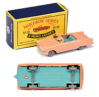 BNPS.co.uk (01202 558833)<br /> Pic: Vectis/BNPS<br /> <br /> Pictured: Matchbox Regular Wheels 39a Ford Zodiac Convertible<br /> <br /> One man's vast collection of model cars amassed over a lifetime has sold at auction for an incredible £250,000.<br /> <br /> Simon Hope, 68, has been collecting matchbox models since he was a small child and has bought over 4,000 over the past six decades.<br /> <br /> His hobby has cost him thousands of pounds and at and engulfed a huge slice of his life but he has now decided to part with the toys