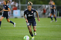 Piscataway, NJ - Saturday Aug. 27, 2016: Tasha Kai during a regular season National Women's Soccer League (NWSL) match between Sky Blue FC and the Chicago Red Stars at Yurcak Field.