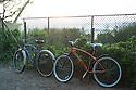 Bikes at Aukai Beach Park in Hawaii