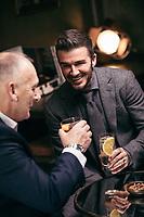 JUN 12 David Beckham and his father Ted Beckham