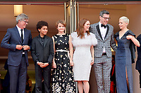 www.acepixs.com<br /> <br /> May 18 2017, Cannes<br /> <br /> (L-R) Director Todd Haynes, actor Jaden Michael, actress Millicent Simmonds, actress Julianne Moore, screenwriter Brian Selznic and actress Michelle Williams arriving at a screening of 'Wonderstruck' during the 70th annual Cannes Film Festival at Palais des Festivals on May 18, 2017 in Cannes, France<br /> <br /> By Line: Famous/ACE Pictures<br /> <br /> <br /> ACE Pictures Inc<br /> Tel: 6467670430<br /> Email: info@acepixs.com<br /> www.acepixs.com
