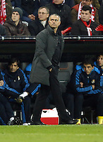 FUSSBALL: Champions League, Halbfinale, Hinspiel, FC Bayern Muenchen - Real Madrid, Muenchen, 17.04.2012.Trainer Jose Mourinho (Real).© pixathlon