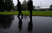 Secret service agents get in position prior to United States President Donald J. Trump's departure on Marine One from the White House September 2, 2017 in Washington, DC. The President and first lady are traveling to Texas to visit individuals impacted by Hurricane Harvey. <br /> Credit: Olivier Douliery / Pool via CNP /MediaPunch