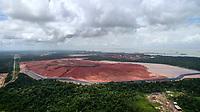 Depósito de rejeitos da produção de alumina em Barcarena no Pará da Norsk Hydro.<br />Barcarena, Pará, Brasil<br />Foto Paulo Santos / Panamazonica<br />18/02/2018