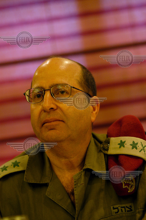 Moshe 'Bogi' Ya'alon, Israeli army Chief of Staff.