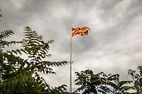 Makedonien. Skopje og Ohrid. <br /> Skopje Fortress Kale. F&aelig;stningen i Skopje.<br /> Foto: Jens Panduro