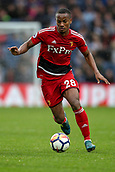 30th September 2017, The Hawthorns, West Bromwich, England; EPL Premier League football, West Bromwich Albion versus Watford; André Carrillo of Watford on the ball